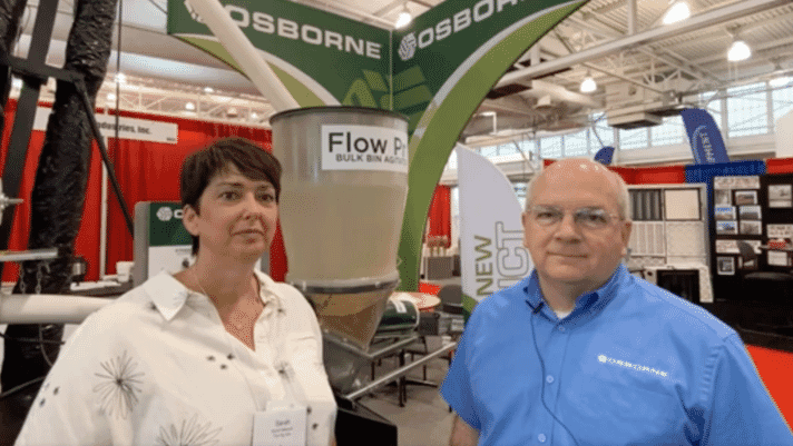 WPX: Osborne Industries launches Flow Pro Bin Agitator to ensure constant, consistent feed thumbnail image