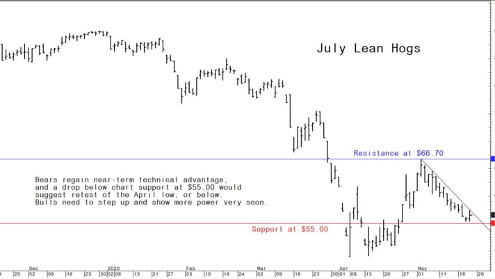 Pork-price recovery stalls in May, but likely to resume in June thumbnail image
