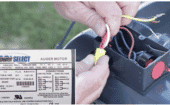 3)   Refer to the wiring diagram on the motor's side to determine the correct wiring connections thumbnail