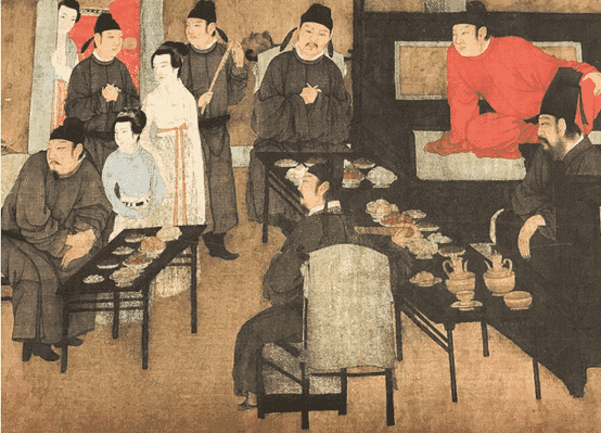 One section of Night Revels of Hanxizai
