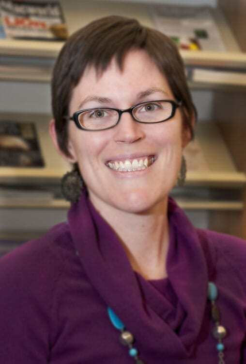 Heather Allen, National Animal Disease Center in Ames, Iowa