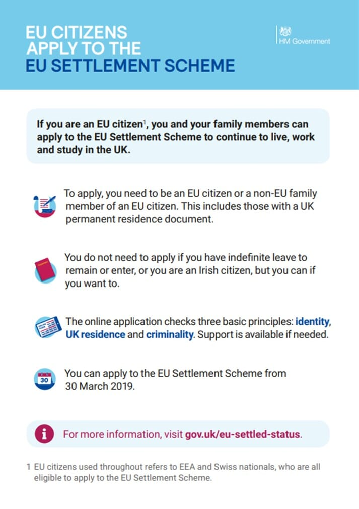 eu settlement scheme facts