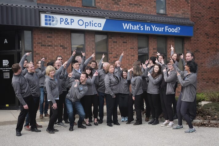 The team at P&P Optica