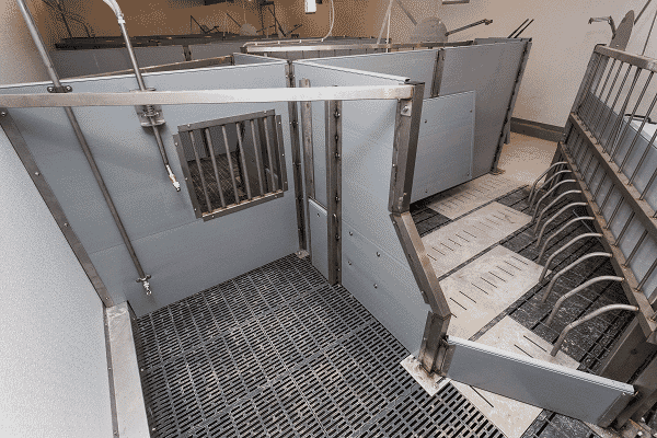 The PigSAFE pen as designed by researchers at SRUC and Newcastle University