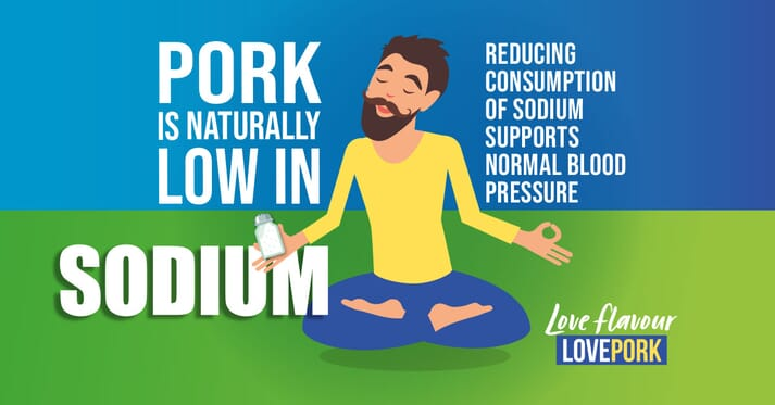 advertising banner for the AHDB love flavour love pork campaign