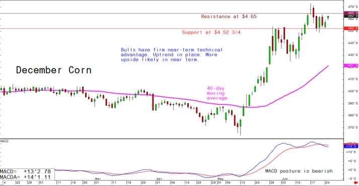 Bulls have firm near-term technical advantage amid price uptrend. Bull flag pattern forms now