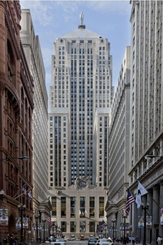 CBOT building