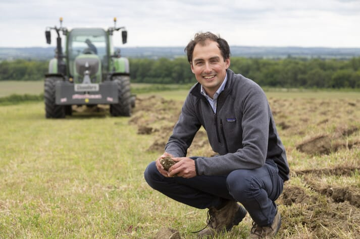 Callum Weir is the Farm Manager at Wimpole Estate Farm