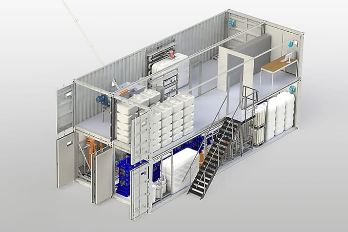 The MemFis membrane filtration system