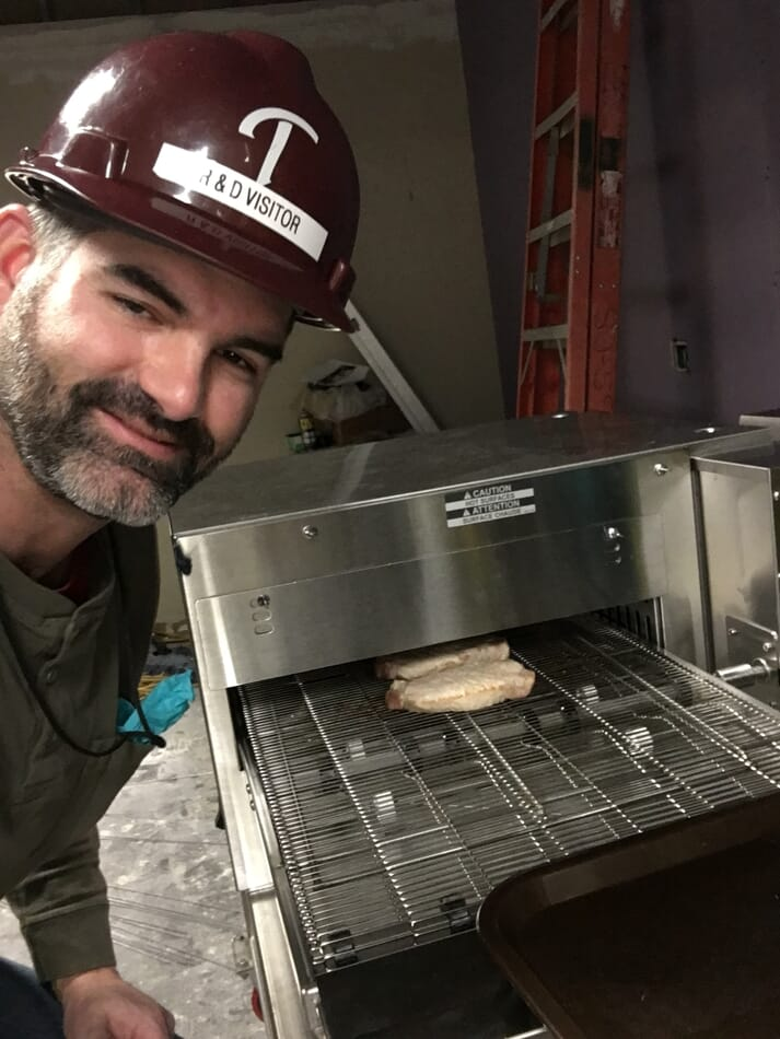 Brandon Fields, applied meat science manager with PIC