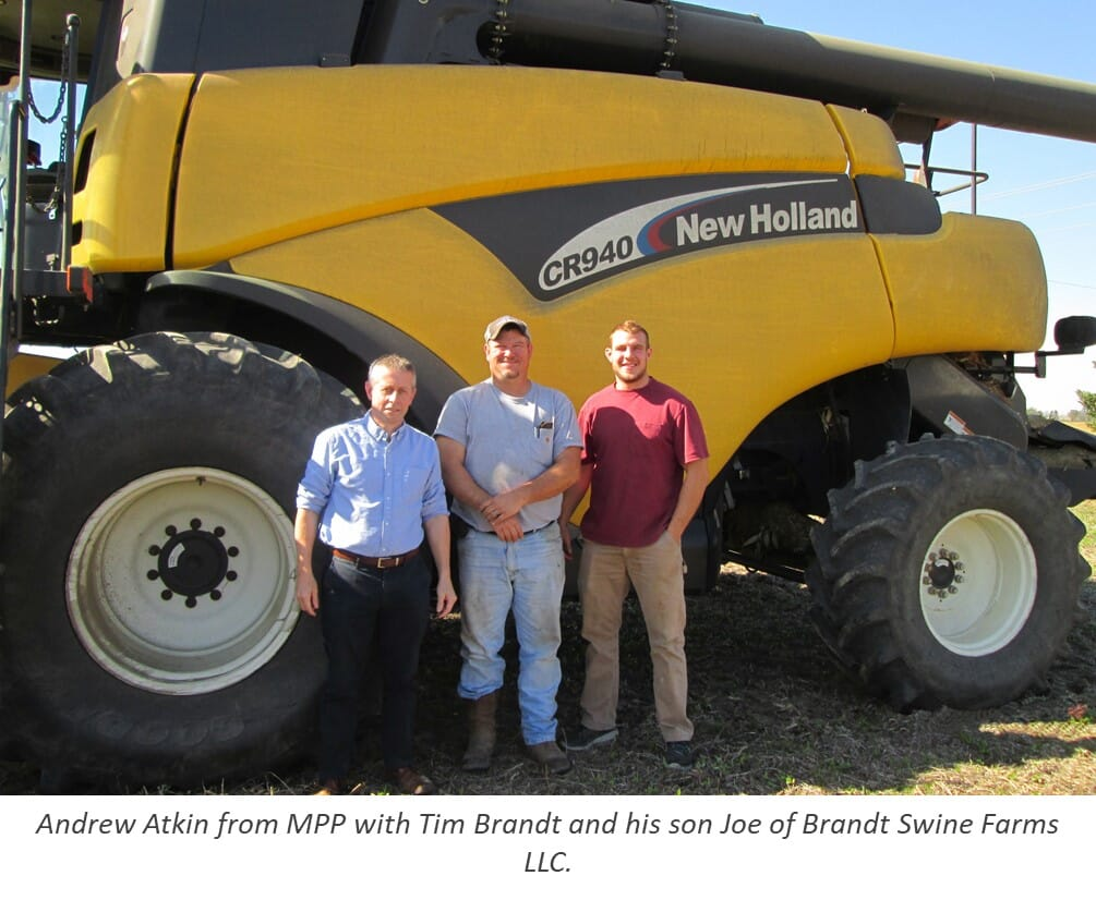 Andrew Atkin (MPP) and Brandt Farms, Ohio