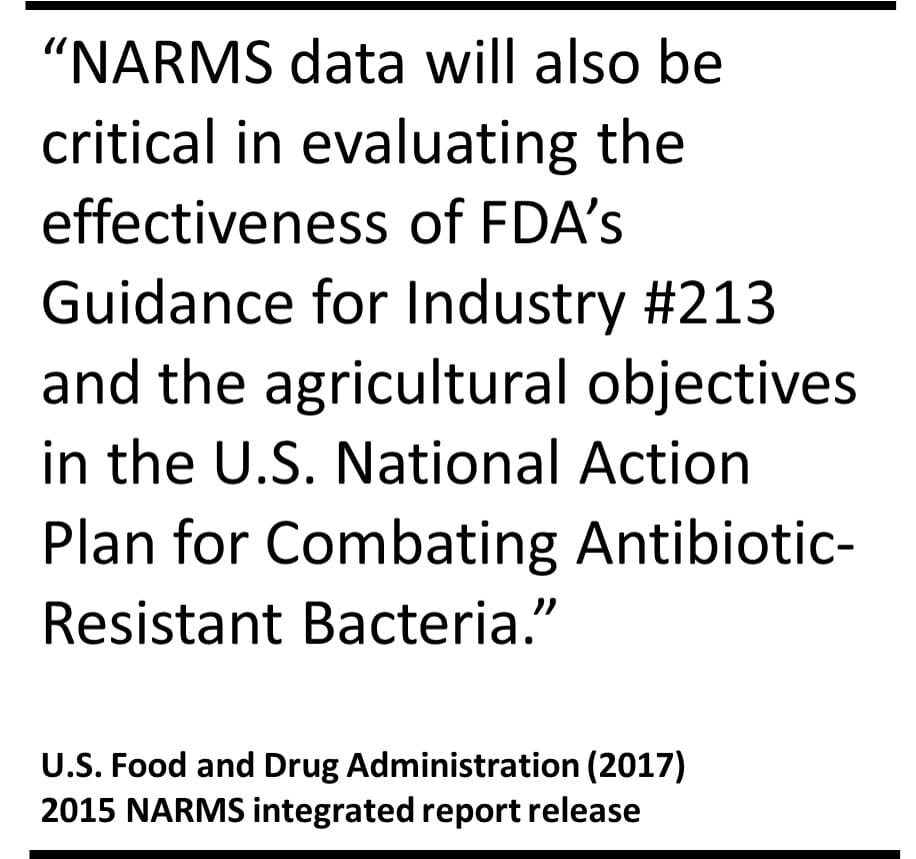 NARMS 2015 quote