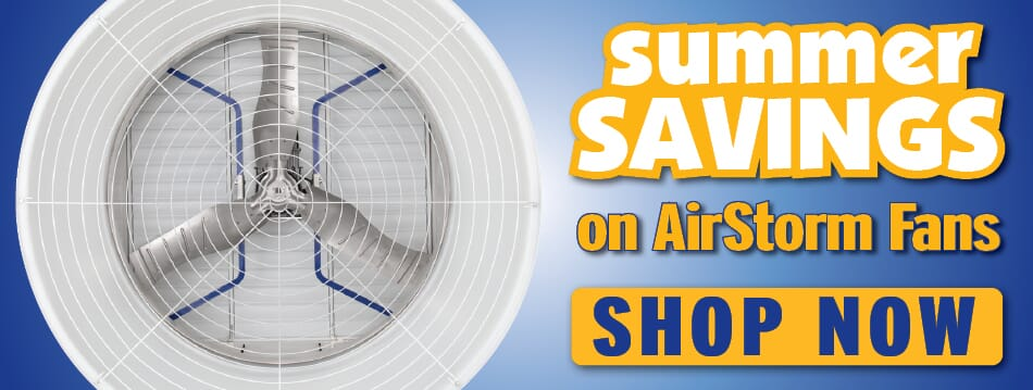 Summer Savings on Airstorm Fans