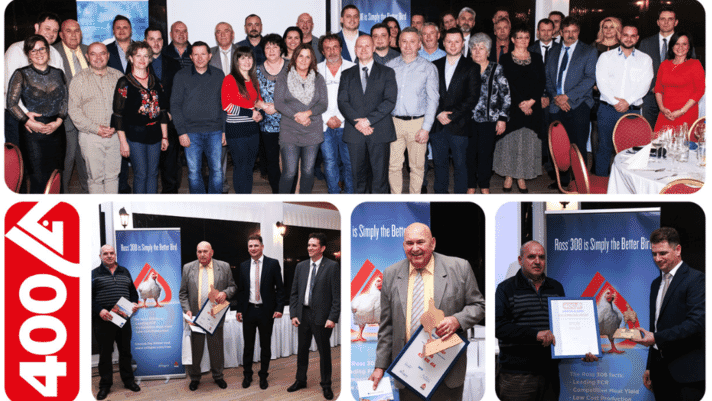 Aviagen Kft Honors 44 Customers at Annual Ross 400 Club Event thumbnail image
