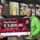 Guests at Royal Pas Reform's centenary party donate 5,000 Euros to 'Kanjers voor Kanjers' thumbnail image