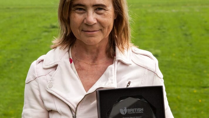 Anne-Marie Neeteson receives British Poultry Council's Special Merit Award thumbnail image