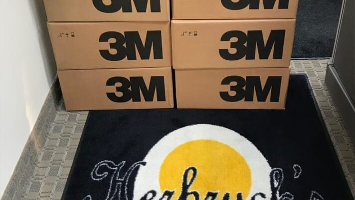 Egg company donated over 10,000 N95 masks to caregivers thumbnail image