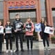 Welfare groups hand in 350,000 signatures to Tesco demanding change for chickens thumbnail image