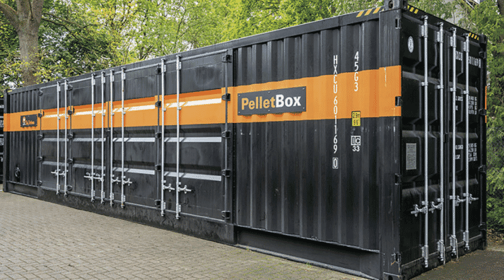 PelletBox has been designed for medium-sized farms.