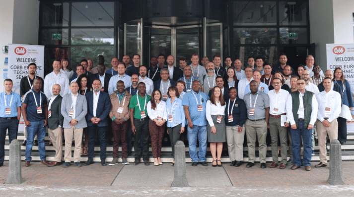 Over 75 attendees from 28 countries participated in the 2019 Cobb Europe Technical School.