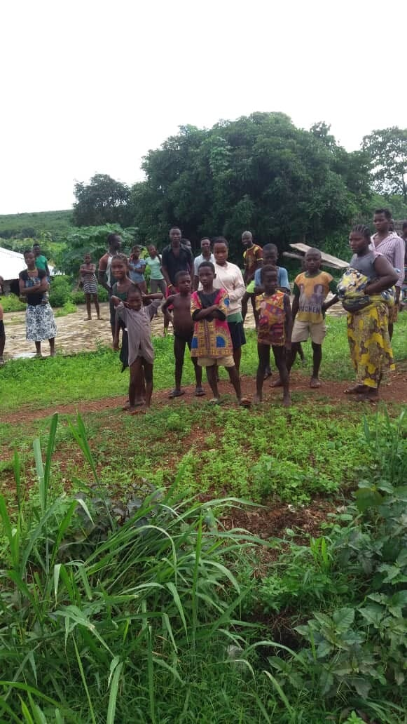 Residents of the Tima and Njala areas of the Kiri Chiefdom, Moyaamba district in Sierra Leone, where the country's largest poultry farm will be constructed