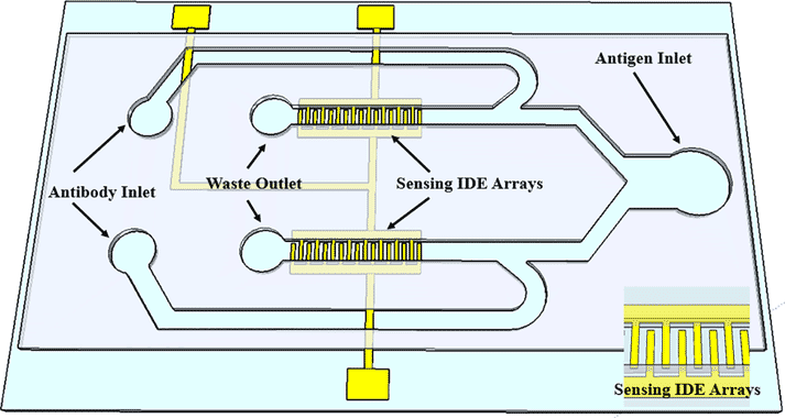 a diagram of a sensor