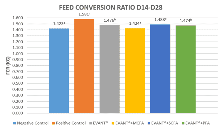 Graphic 4. Feed Conversion Ratio D14-D28