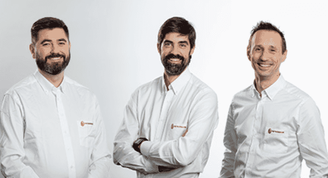 L-R: Willem Fourie, Rafael Alonso, Angelo Steen