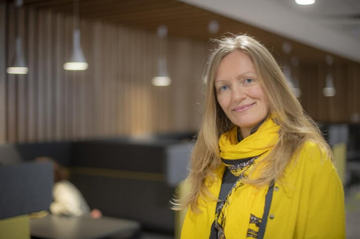 Martha RJ Clokie, Professor of Microbiology at the University of Leicester