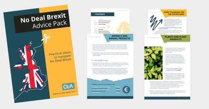 CLA's advice pack