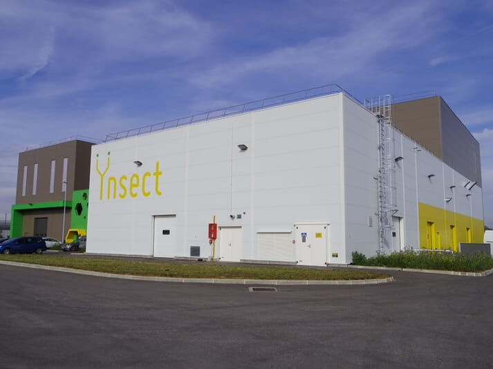 Ÿnsect recently built Ÿnsite, a demonstration facility designed to produce insects at large scale