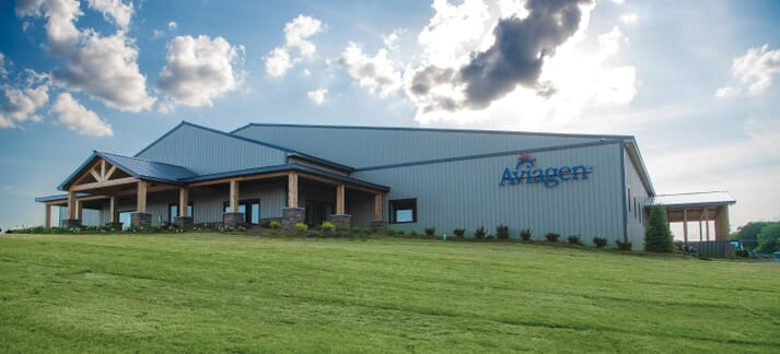 The new Aviagen Research and Training Center