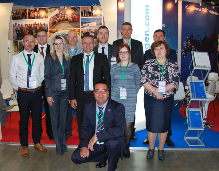 The Aviagen team will give guests a warm welcome at Meat and Poultry Industry 2019