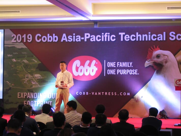 Fred Kao, general manager of Cobb Asia