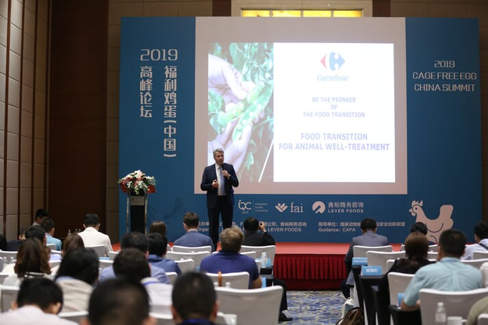 Hervé Martin, national food safety and quality director, Carrefour China