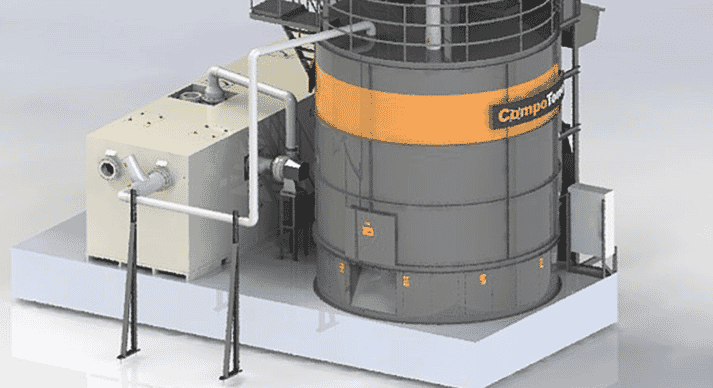 CompoTower air scrubber
