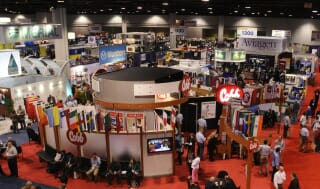 show floor at ippe