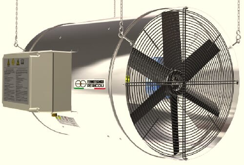 Termotecnica Pericoli agriTERM fan heater poultry