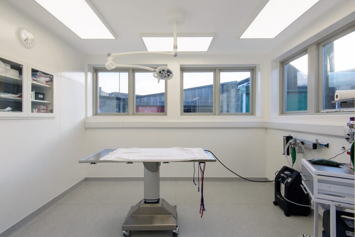 FIGURE 1 Orchard House Vets recently transformed an old police station into a second surgery